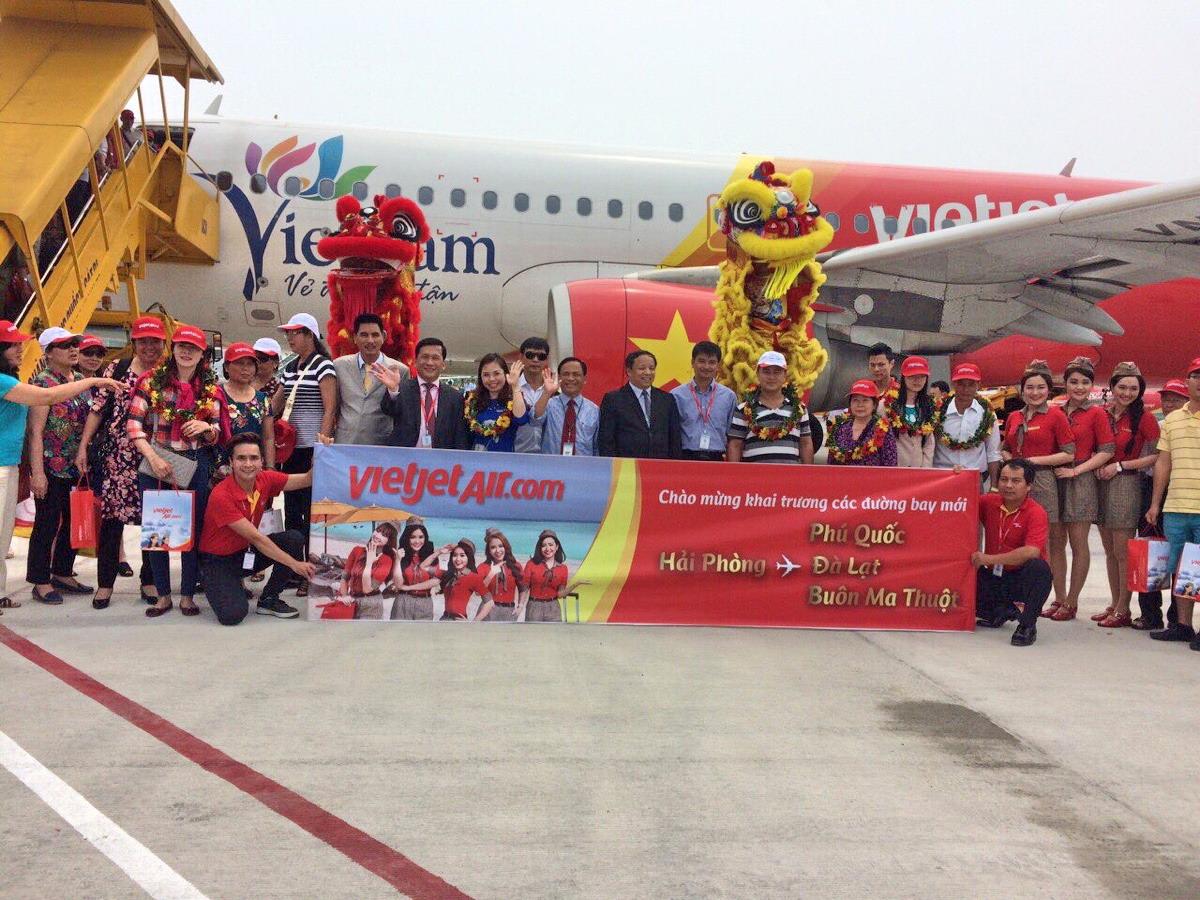 Vietravel Hải Phòng siêu giảm giá đến 35% nhân dịp khánh thành Cảng hàng không quốc tế Cát Bi
