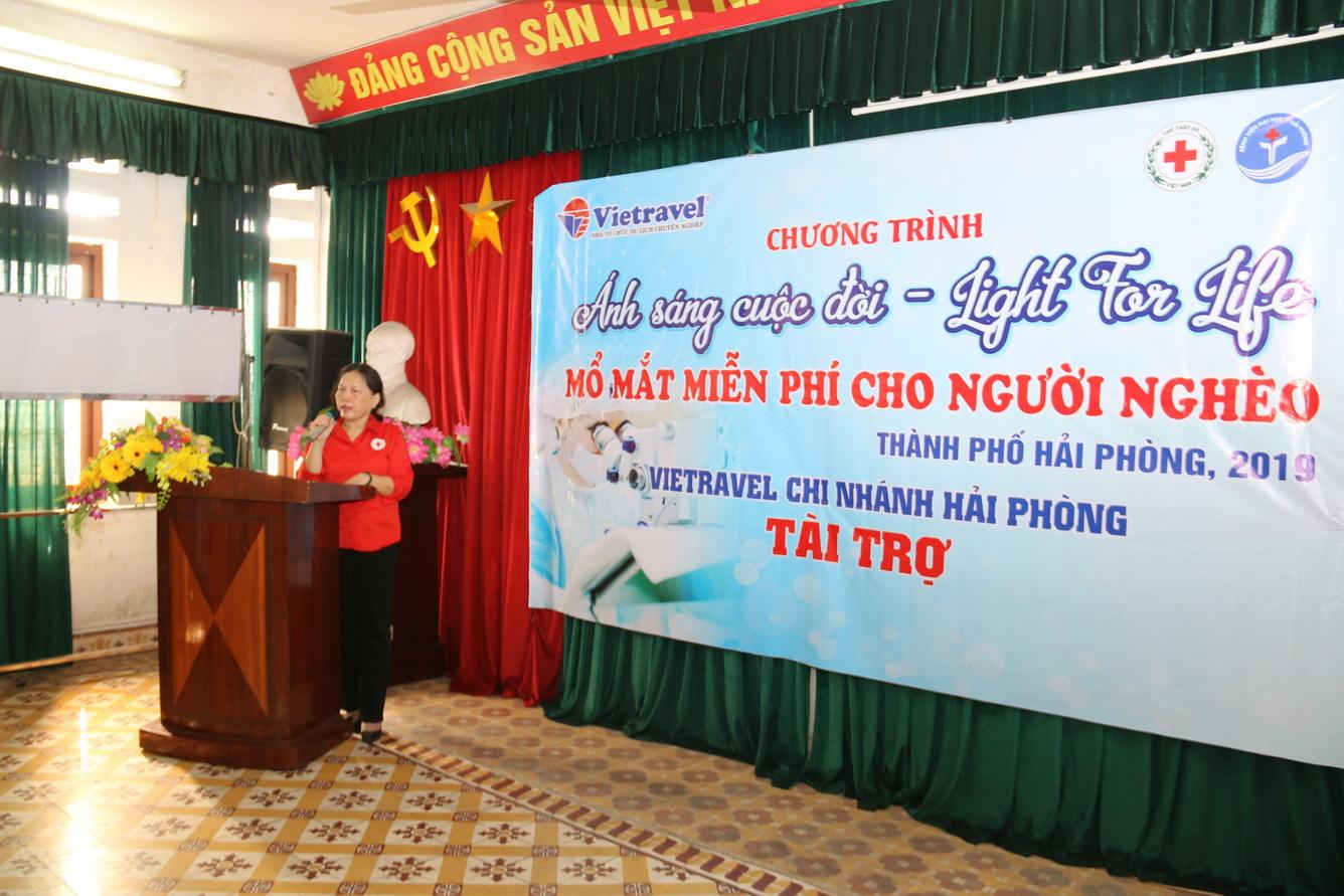 Vietravel tài trợ chương trình 'Ánh sáng cuộc đời - Light for life' Khám và mổ mắt cho bệnh nhân nghèo TP. Hải Phòng