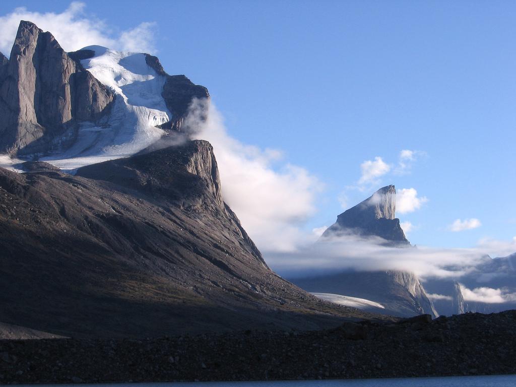 The steepest peak on Earth: Mount Thor, Nunavut, Canada