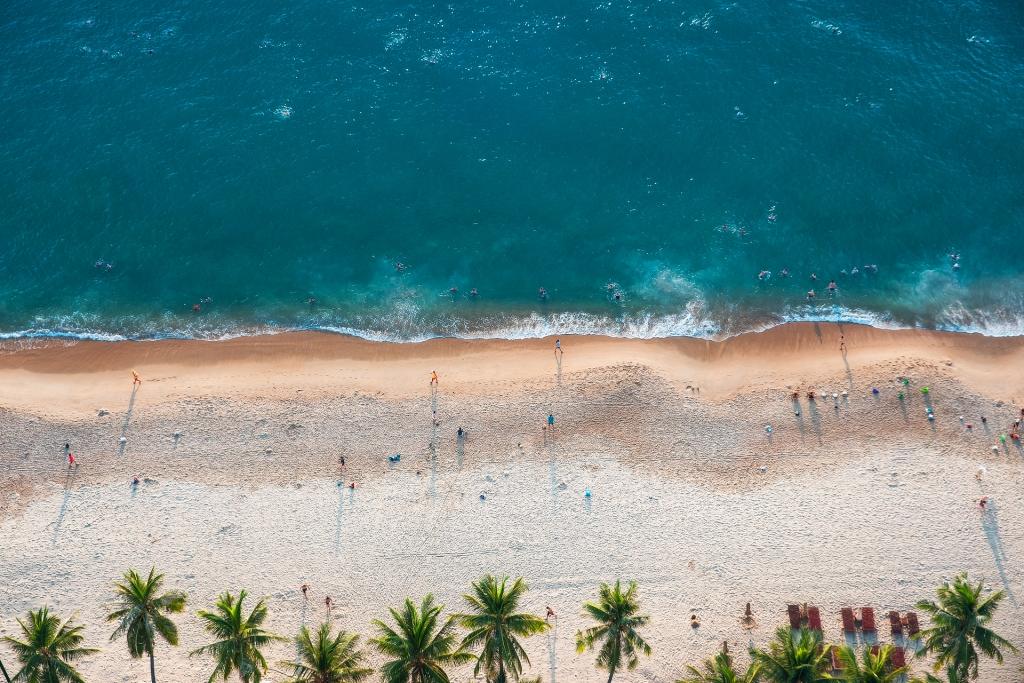 Blissful beaches