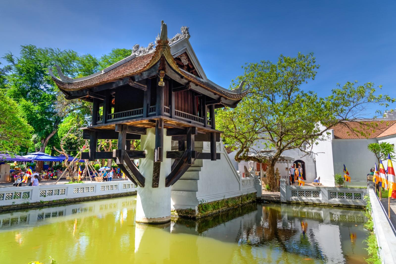 3. One Pillar Pagoda