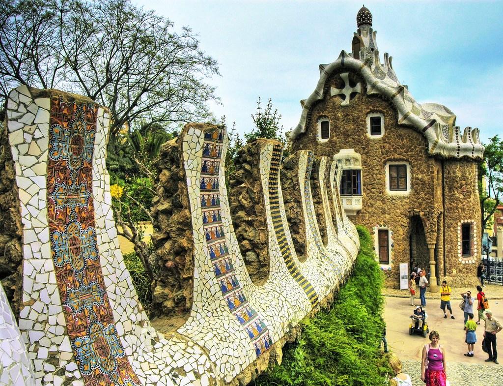 4. Parc Güell: Gaudí's Surrealist Park