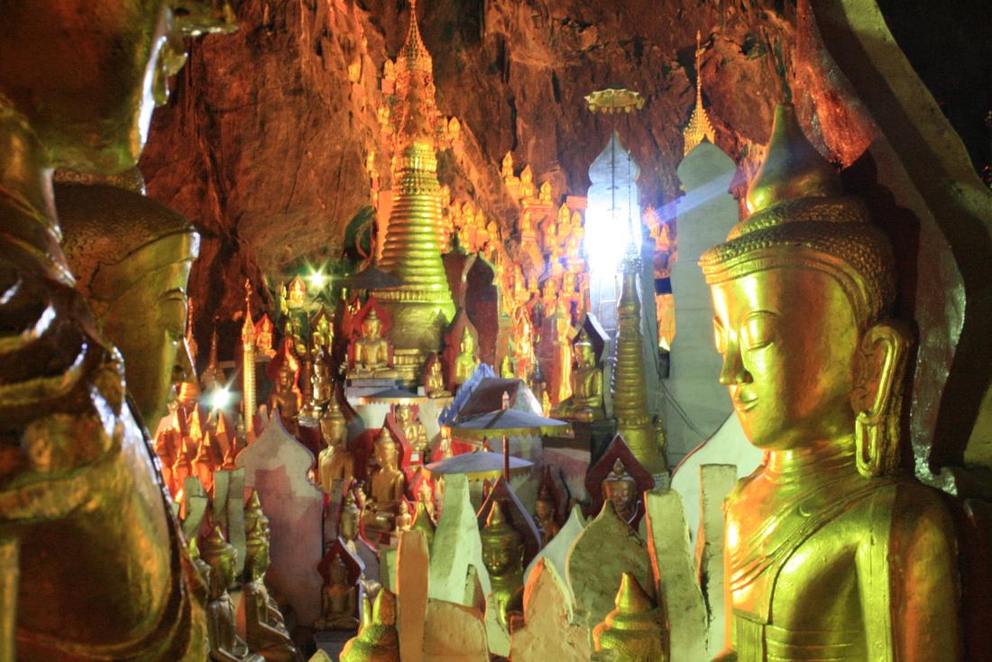 10. Pindaya Caves
