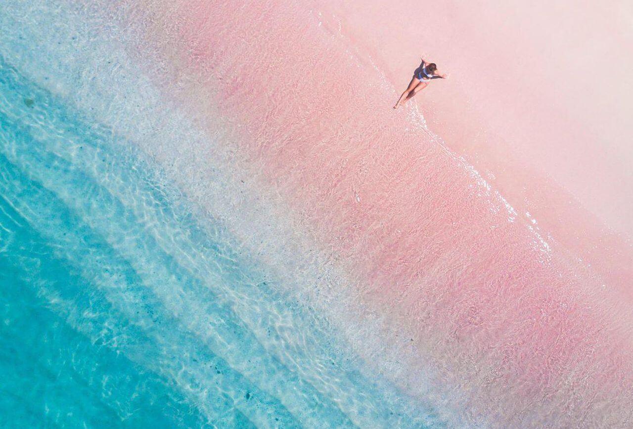 7. Pink Beach