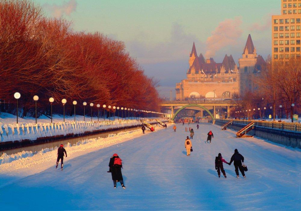 8. Rideau Canal Skateway, Ottawa