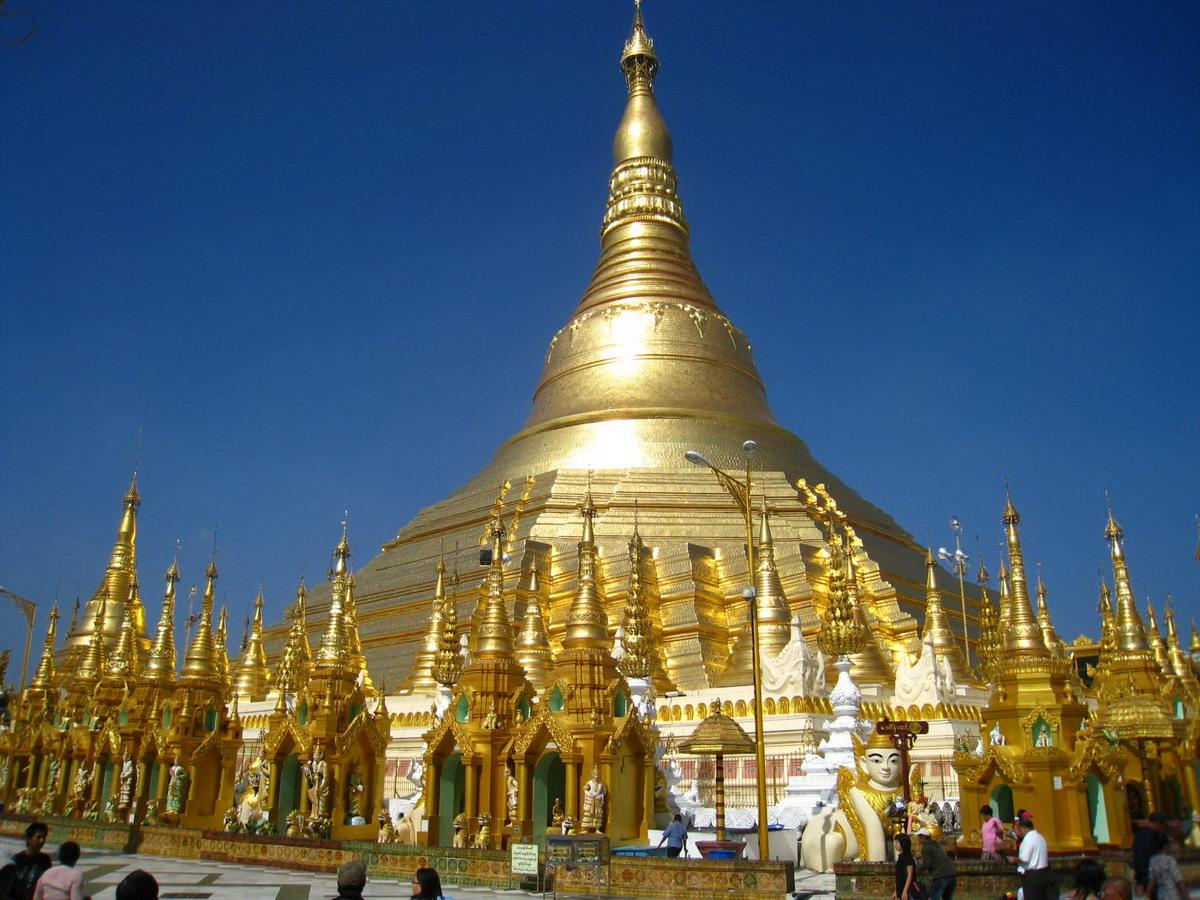 Đền chùa Shwedagon