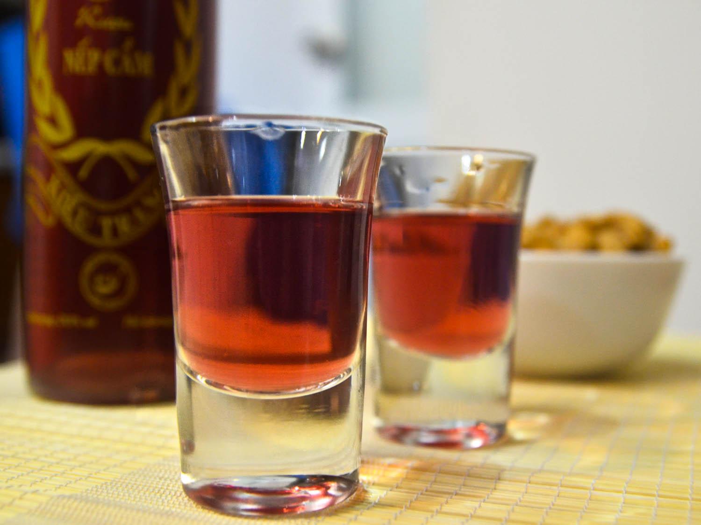 Rượu Nếp Cẩm (Sticky Rice Wine)