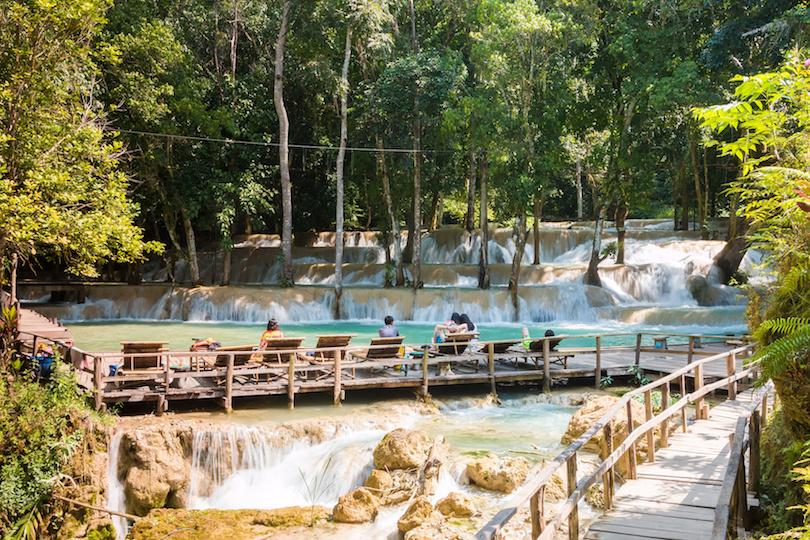 10. Tad Sae Waterfalls