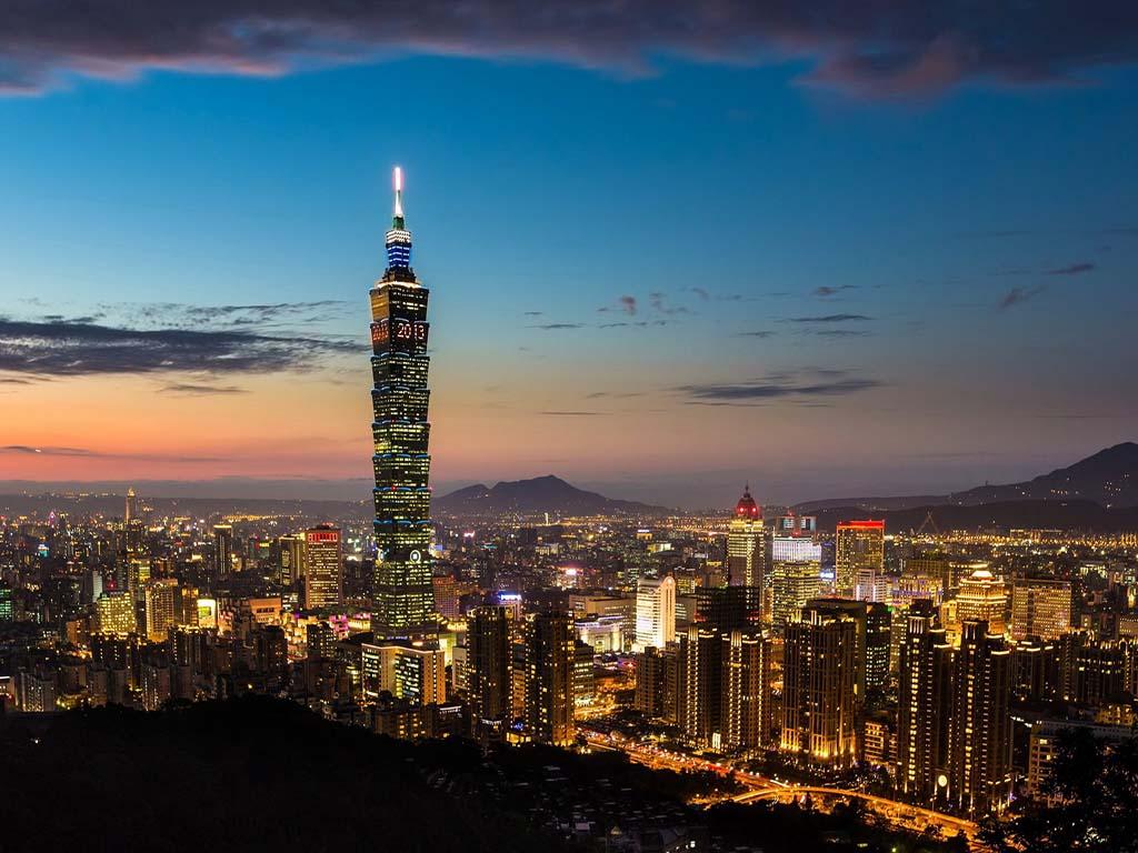 4) Taipei, Taiwan