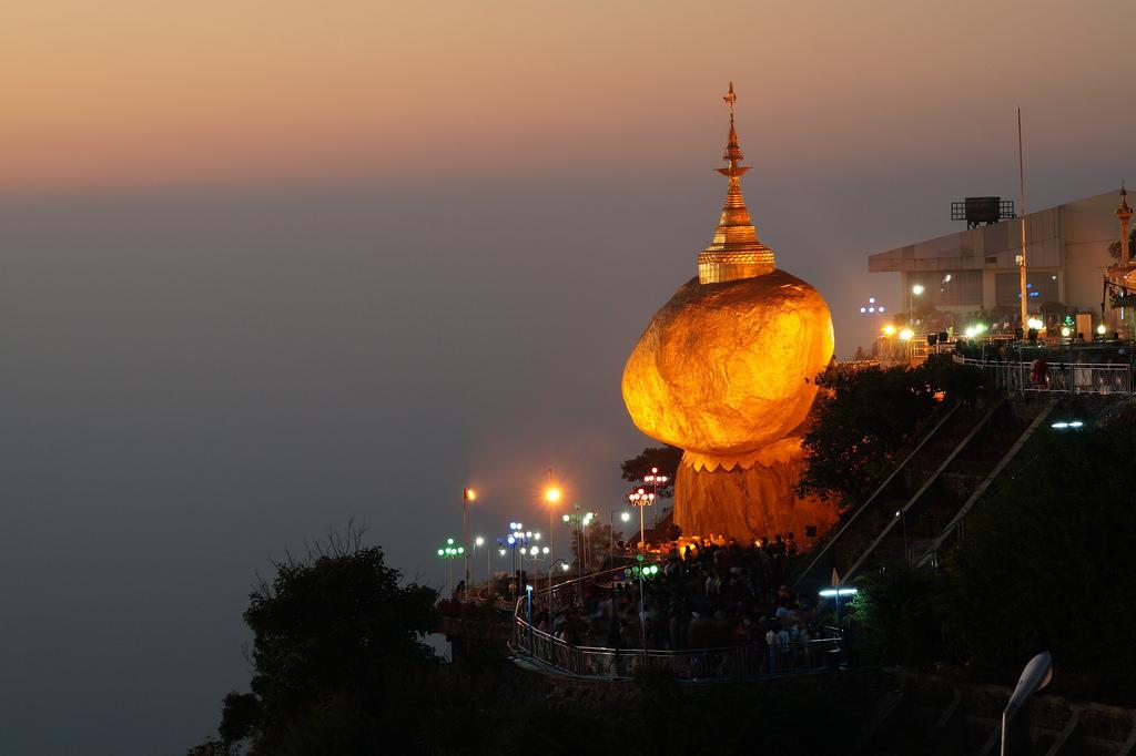 4. Kyaiktiyo Pagoda or The Golden Rock