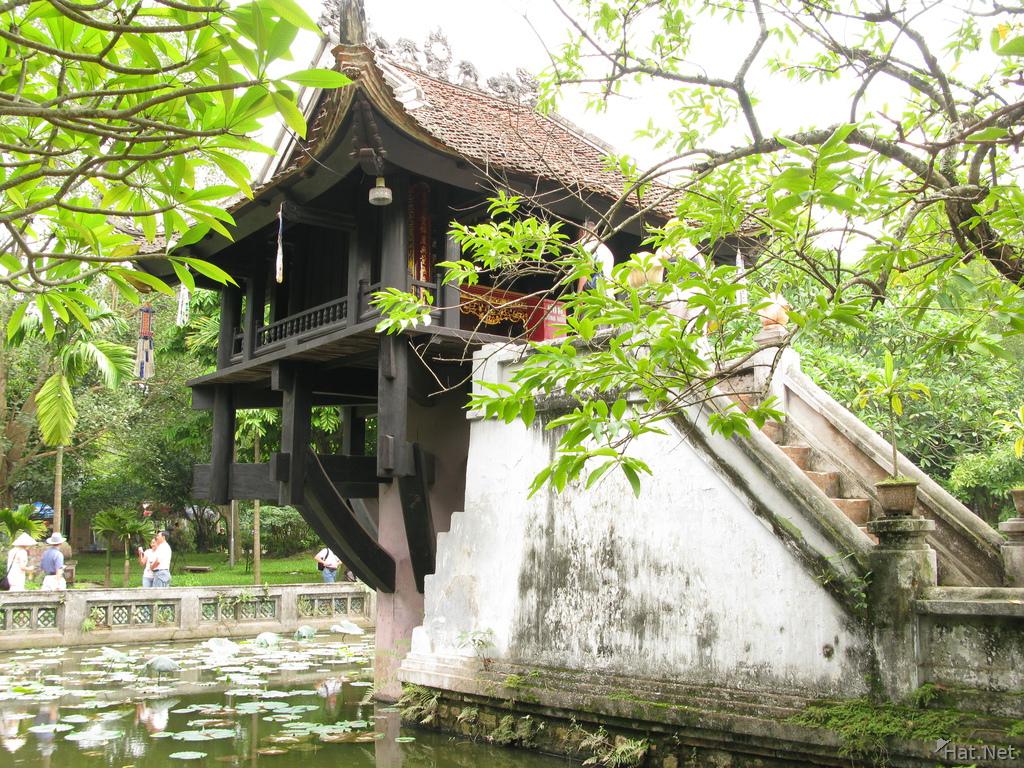8. The One Pillar Pagoda