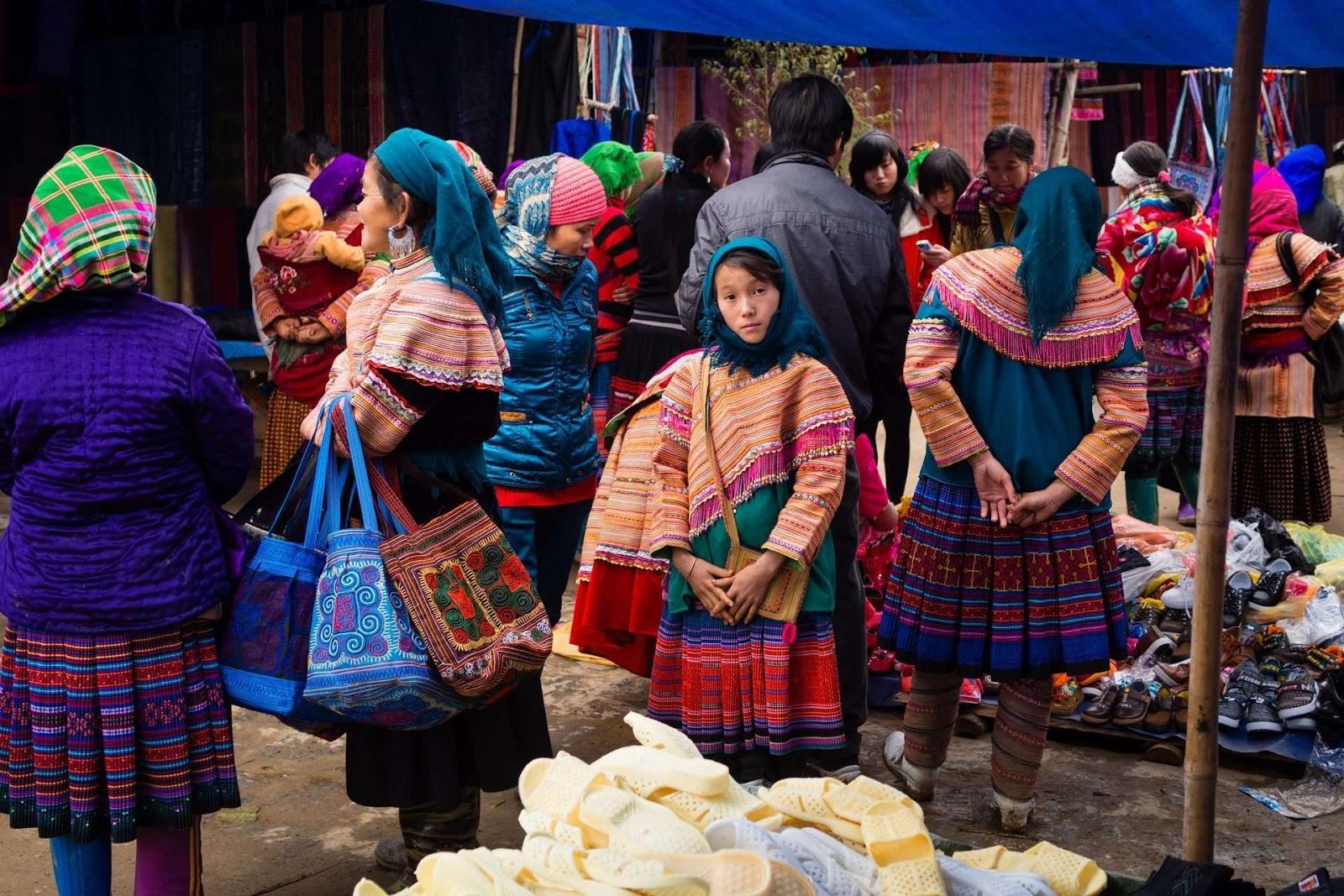 The romantic Sapa market