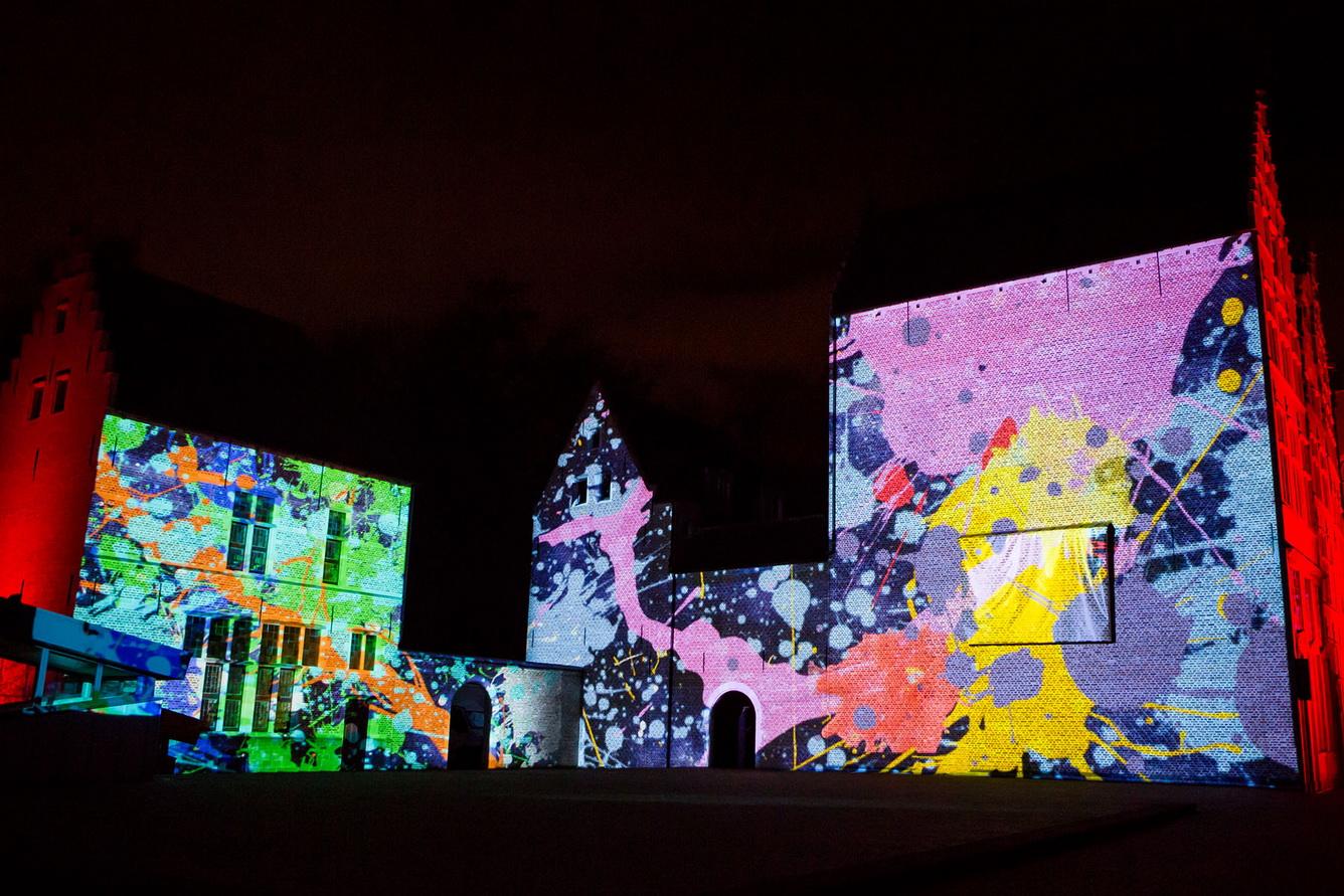 Cuối tuần, chiêm ngưỡng các màn trình diễn ánh sáng nghệ thuật 3D Mapping