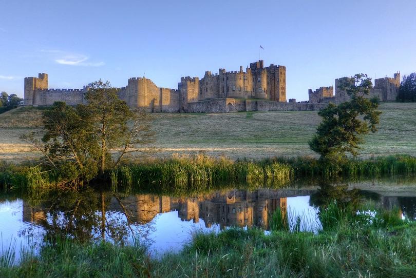 9. Alnwick Castle