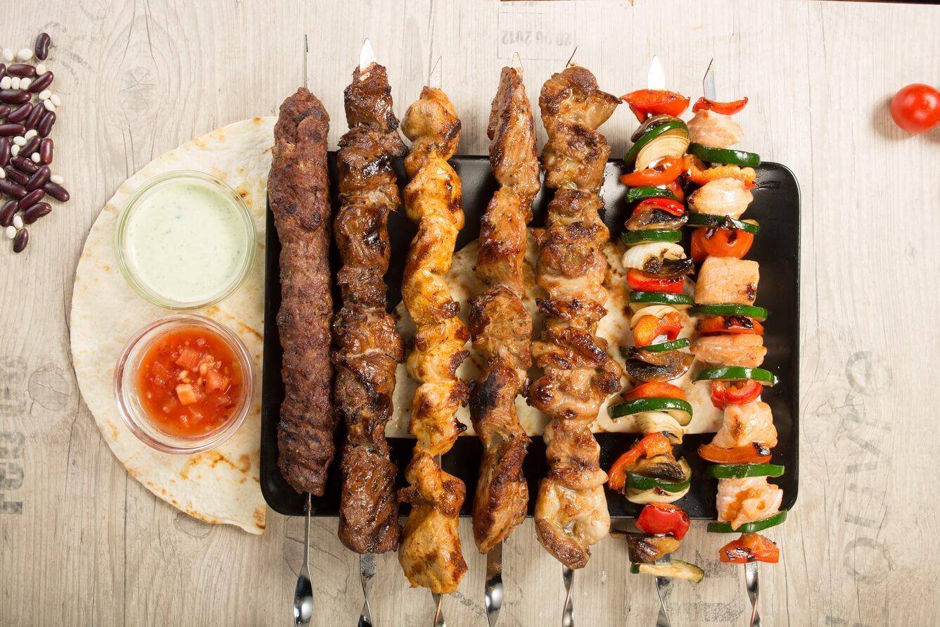 2. Shish Kebab