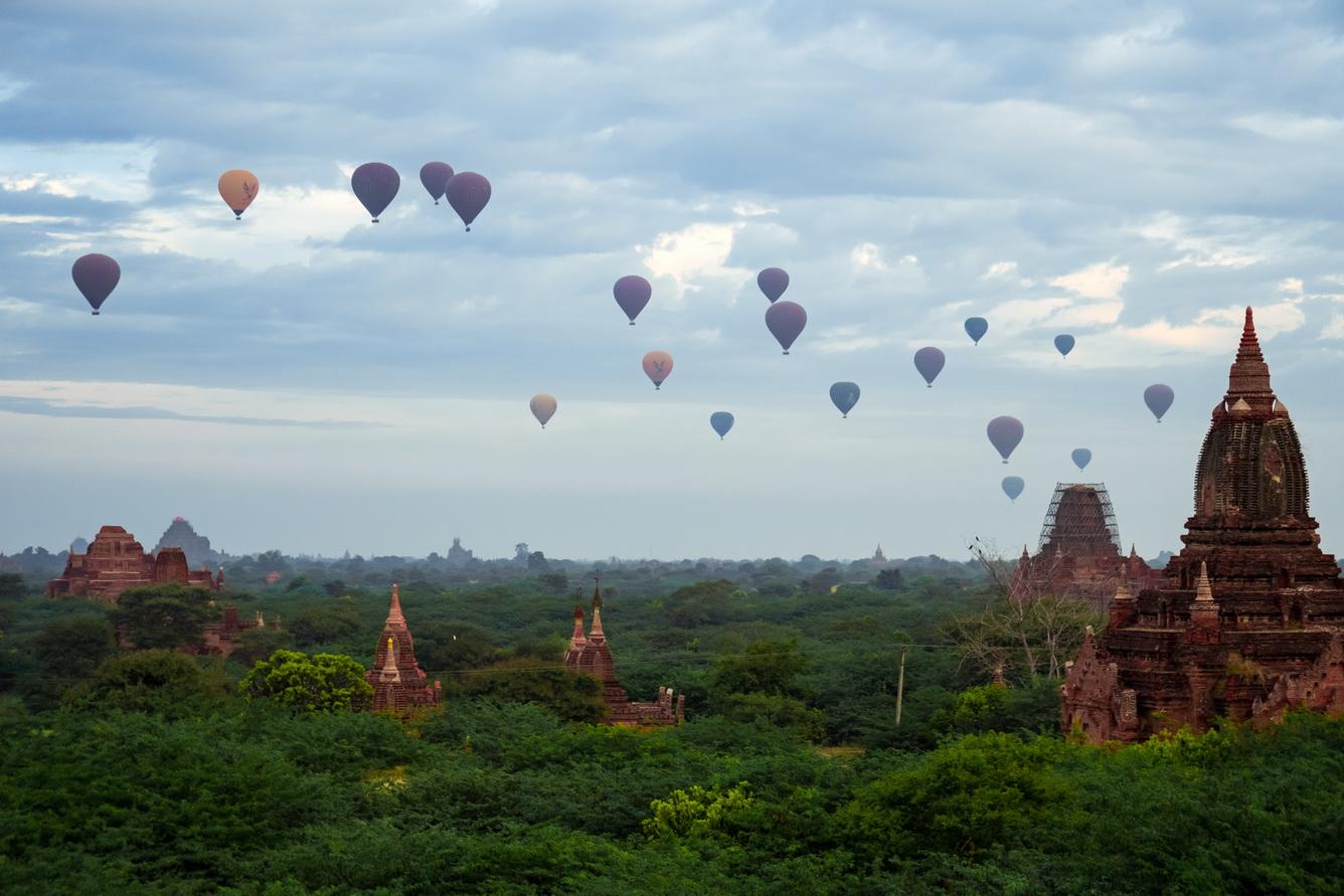 Khám phá thành phố cổ Bagan