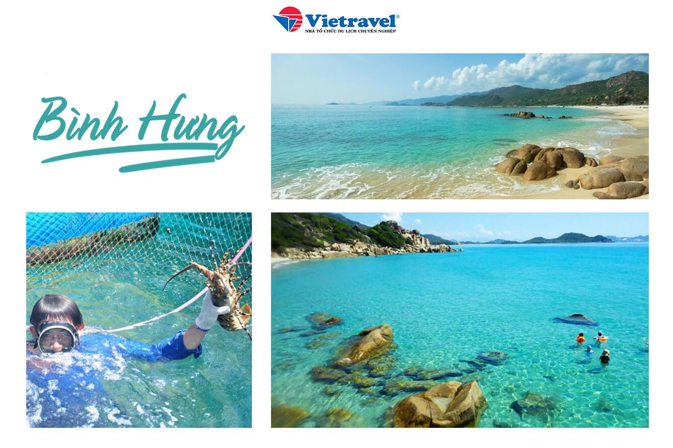 """""""Check-in"""" đảo tôm hùm Bình Hưng"""