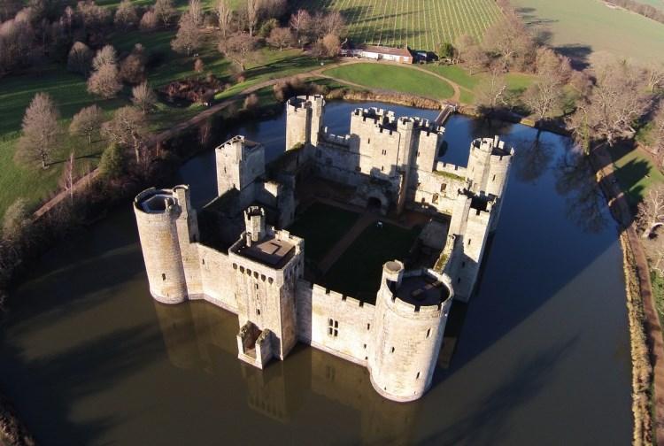 2. Bodiam Castle