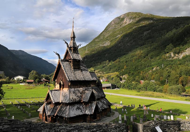 2. Borgund Stave Church