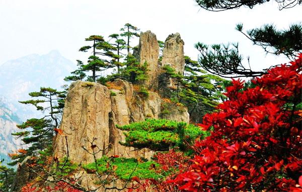 4. Núi Hoàng Sơn, Trung Quốc