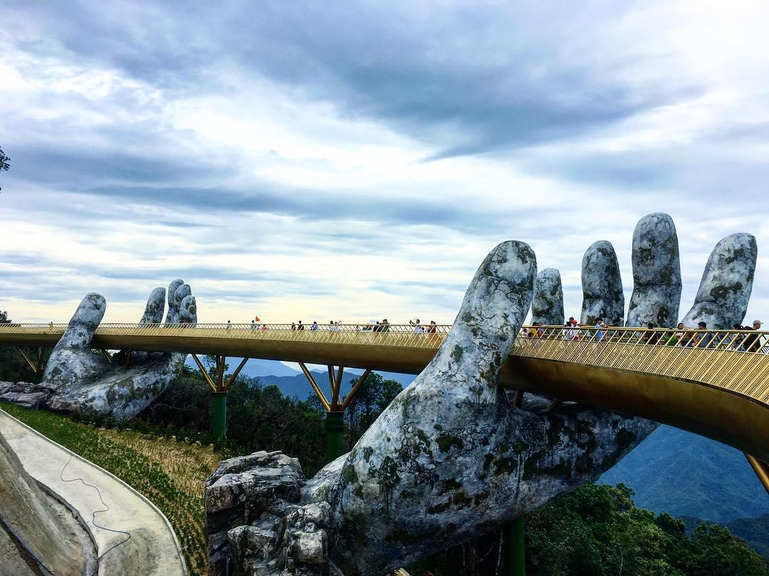 The Golden Bridge at Ba Na Hills, Da Nang