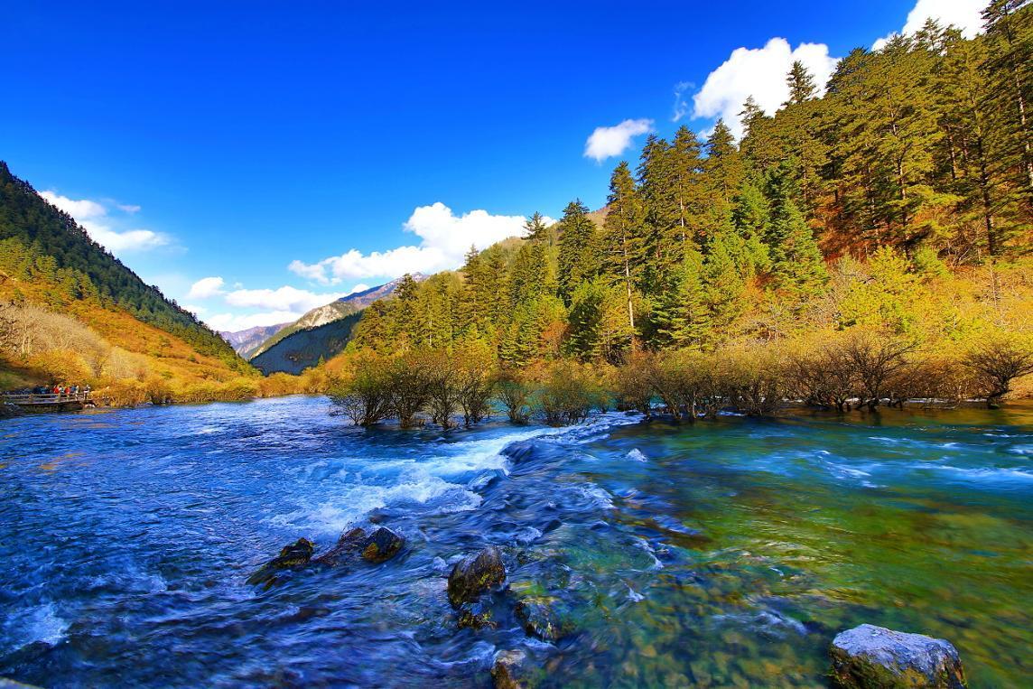 Jiuzhaigou Valley, Sichuan Province, China