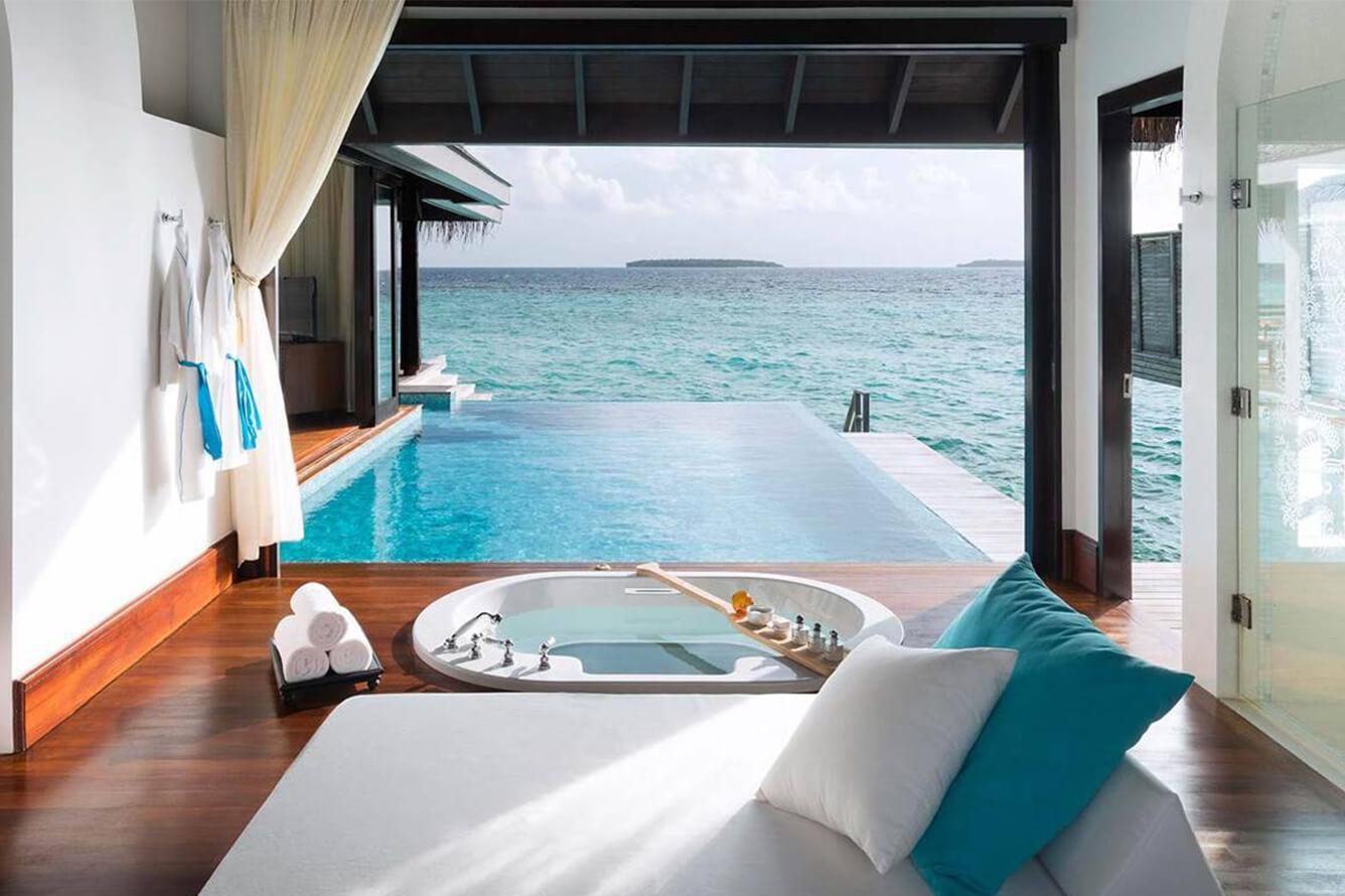 'Chuyện tình' Maldives