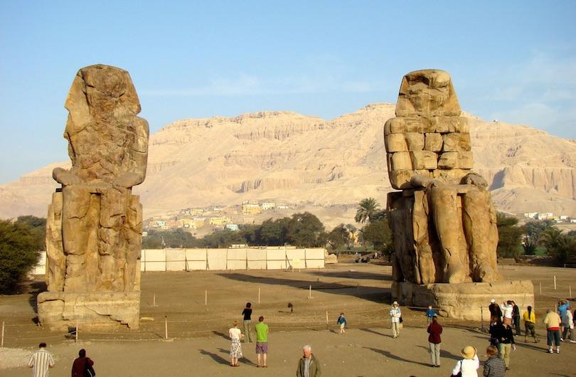 8. Colossi of Memnon