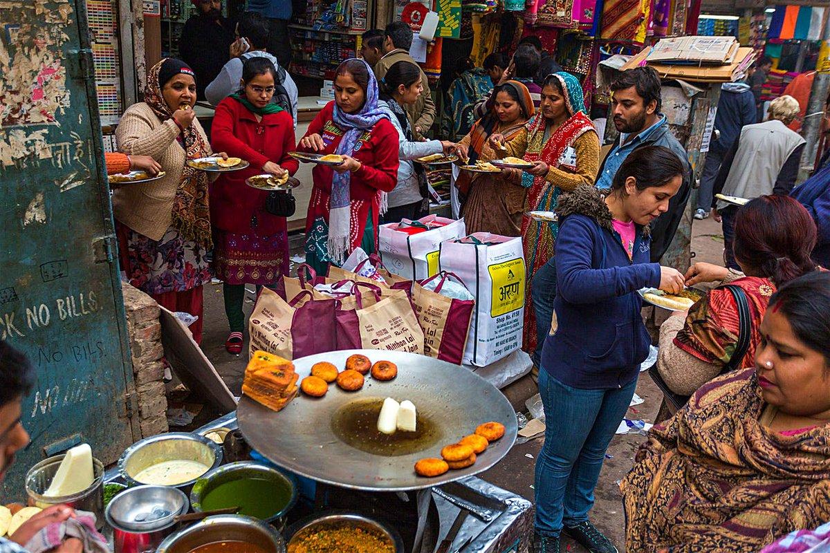 Anytime eating at Khandani Pakore Wala