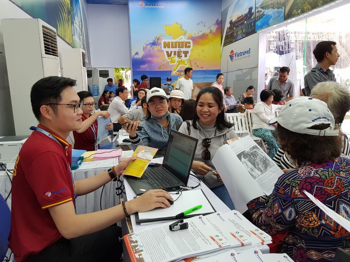 5.300 chỗ được bán tại Ngày hội Du lịch TP.HCM