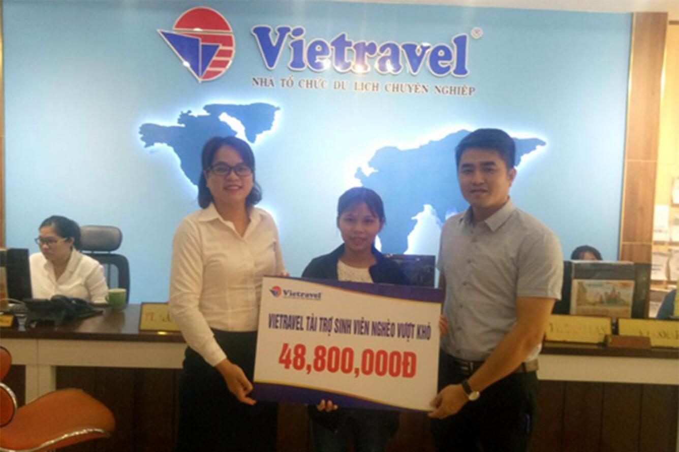 Vietravel - 'Đồng hành cùng tài năng Việt' tỏa sáng