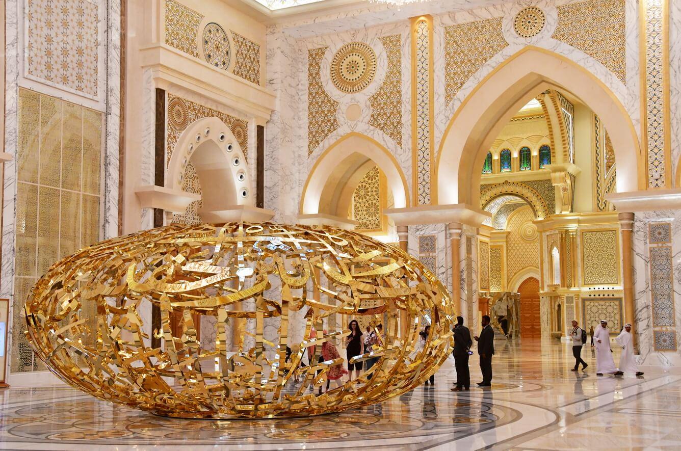 """""""Hot"""": Dinh tổng thống tráng lệ ở UAE lần đầu tiên mở cửa đón du khách"""