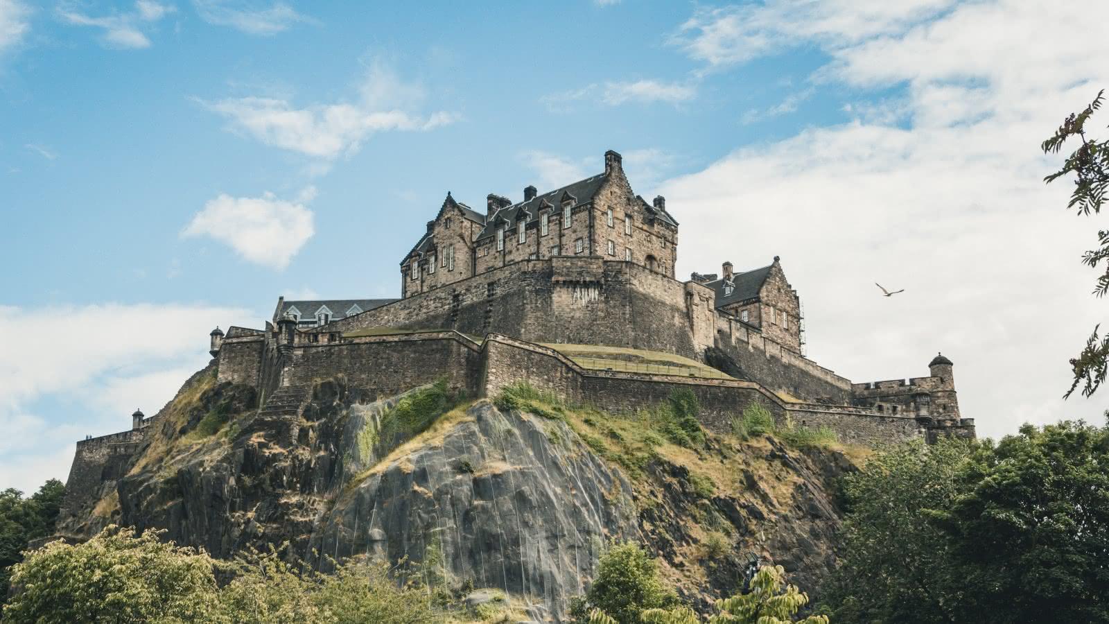 4. Edinburgh Castle