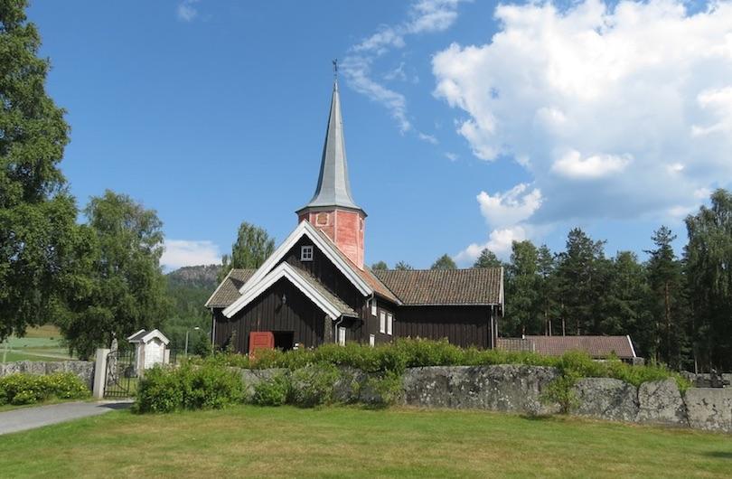 10. Flesberg Stave Church