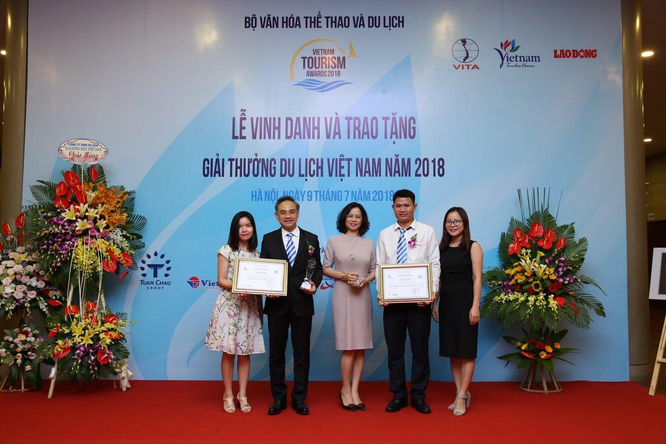 Vietravel proud to win the Vietnam Tourism Awards in 2018