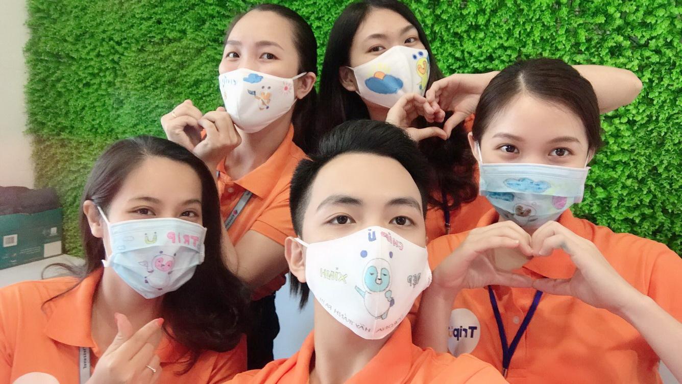 Chiến dịch 'Happy Mask' hưởng ứng thông điệp ở nhà mùa dịch