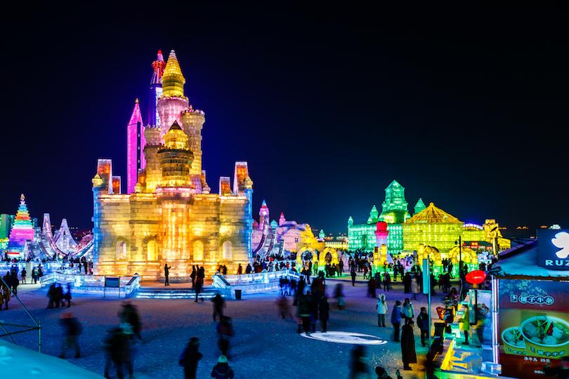 1. Harbin Ice and Snow Sculpture Festival