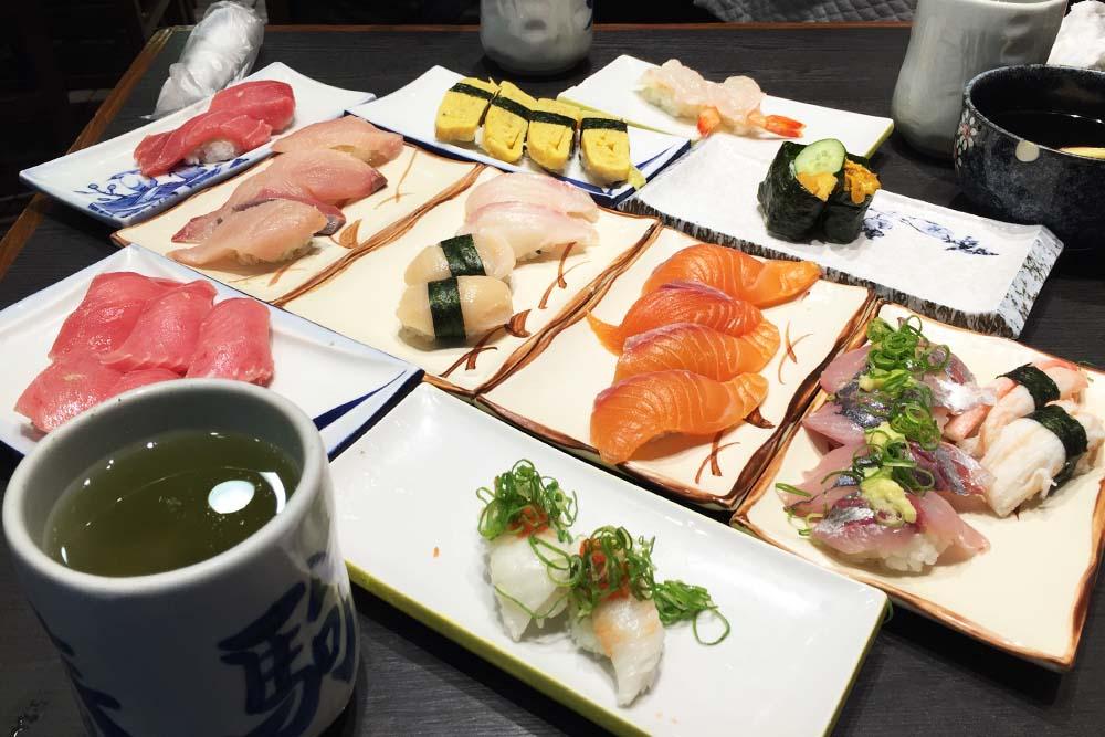 Osaka: Harukoma Sushi