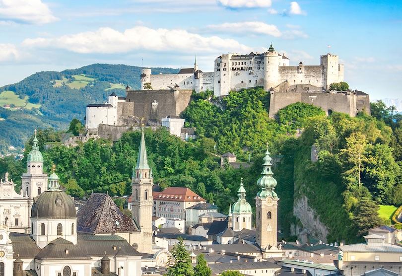 2. Hohensalzburg Castle