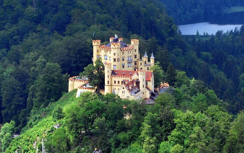 4. Hohenschwangau Castle
