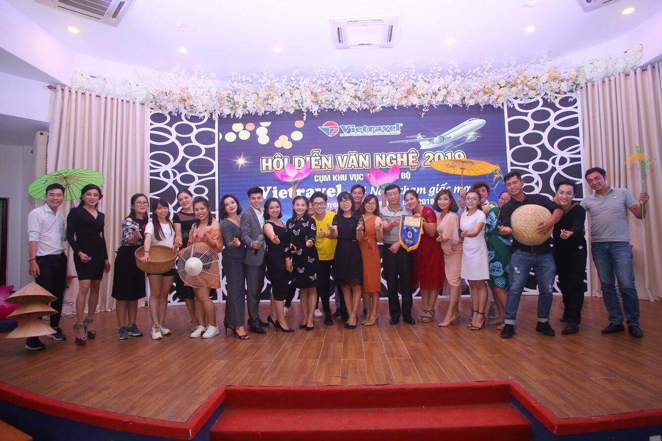 Hội thao Hội diễn văn nghệ Vietravel 2019 cụm khu vực Tây Nam Bộ