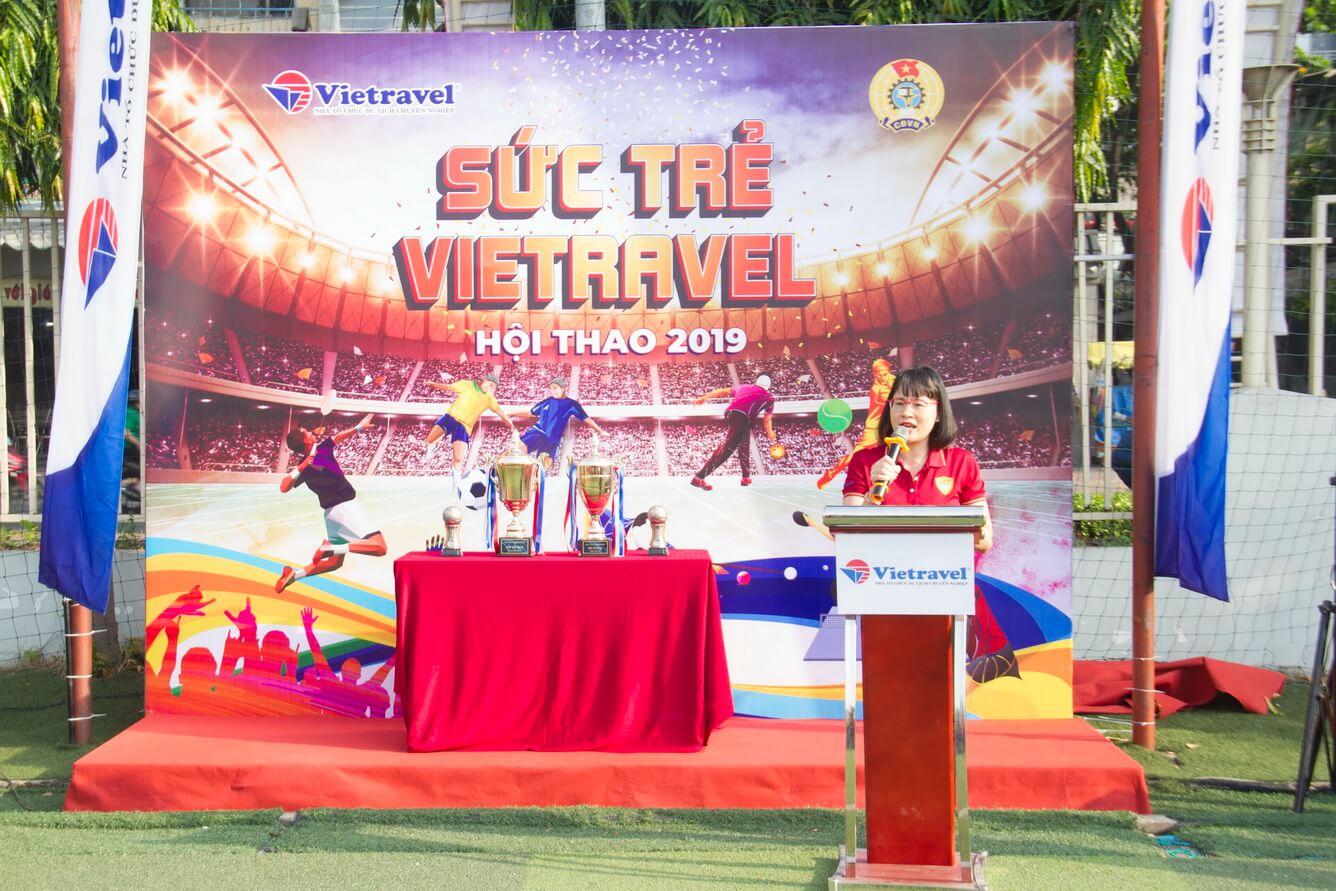 Hội thao Sức Trẻ Vietravel 2019 chào mừng kỷ niệm 24 năm thành lập