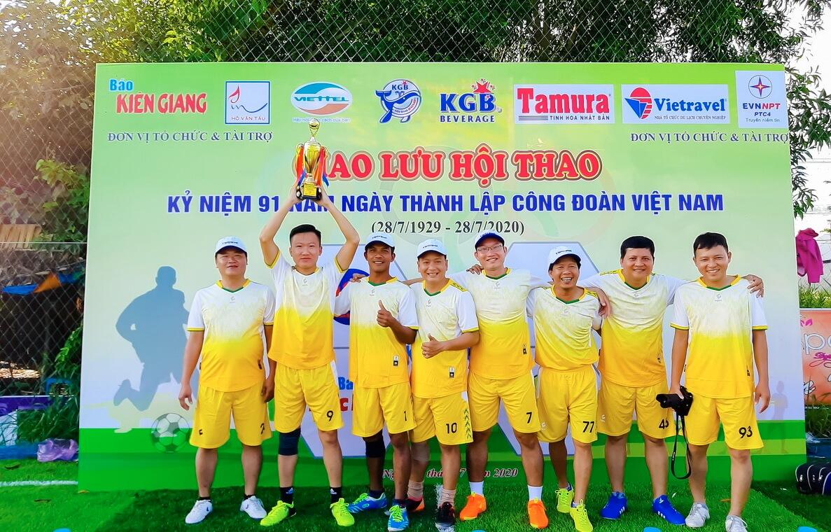 Vietravel đồng hành cùng Hội thao chào mừng kỷ niệm 91 năm ngày thành lập công đoàn Việt Nam