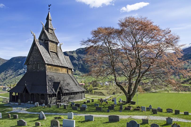 4. Hopperstad Stave Church