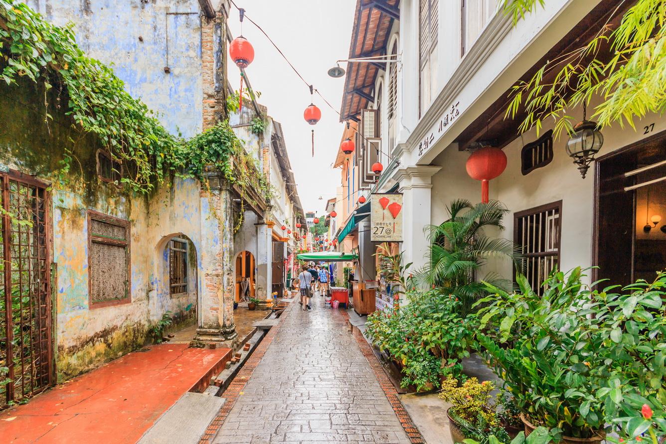 Đi dạo trên con đường lịch sử Concubine