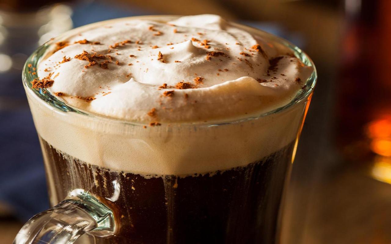 2. Irish coffee, Ireland