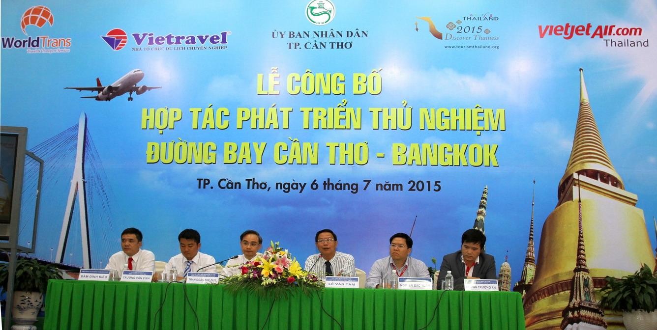 Đường bay Cần Thơ – Bangkok - hành trình kết nối du lịch, văn hóa đặc sắc