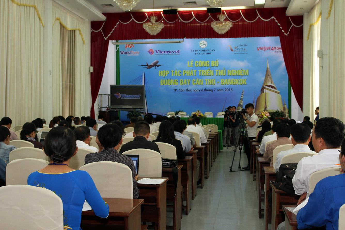 Vietravel tiên phong mở rộng khai thác đường bay Cần Thơ - Bangkok