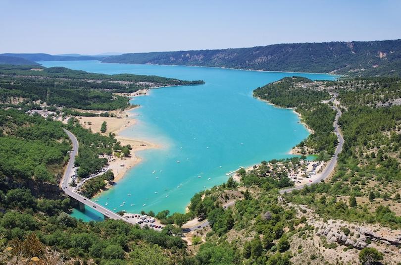 4. Lac de Sainte Croix