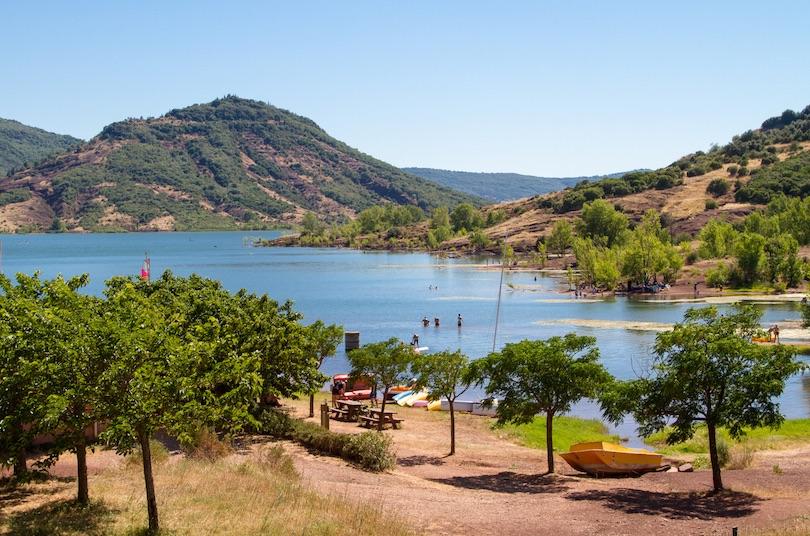 10. Lac du Salagou